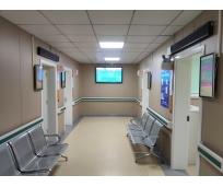 重庆市九龙坡区妇幼保健院安装银之鑫分诊排队系统、自助报到...