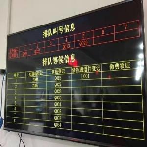 银之鑫排队叫号系统走入重庆某房地产登记中心