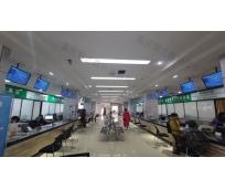 武胜行政审批局政务大厅网上预约排号系统安装完成!